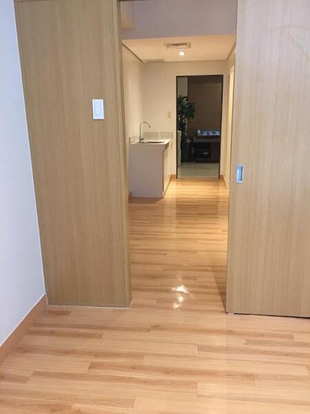Deliverable Unit Trees Residences - Bedroom door