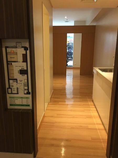 Deliverable Unit Trees Residences - Entrance
