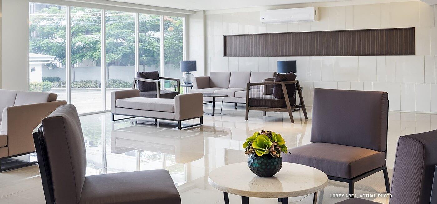 Lobby Lounge - Trees Residences