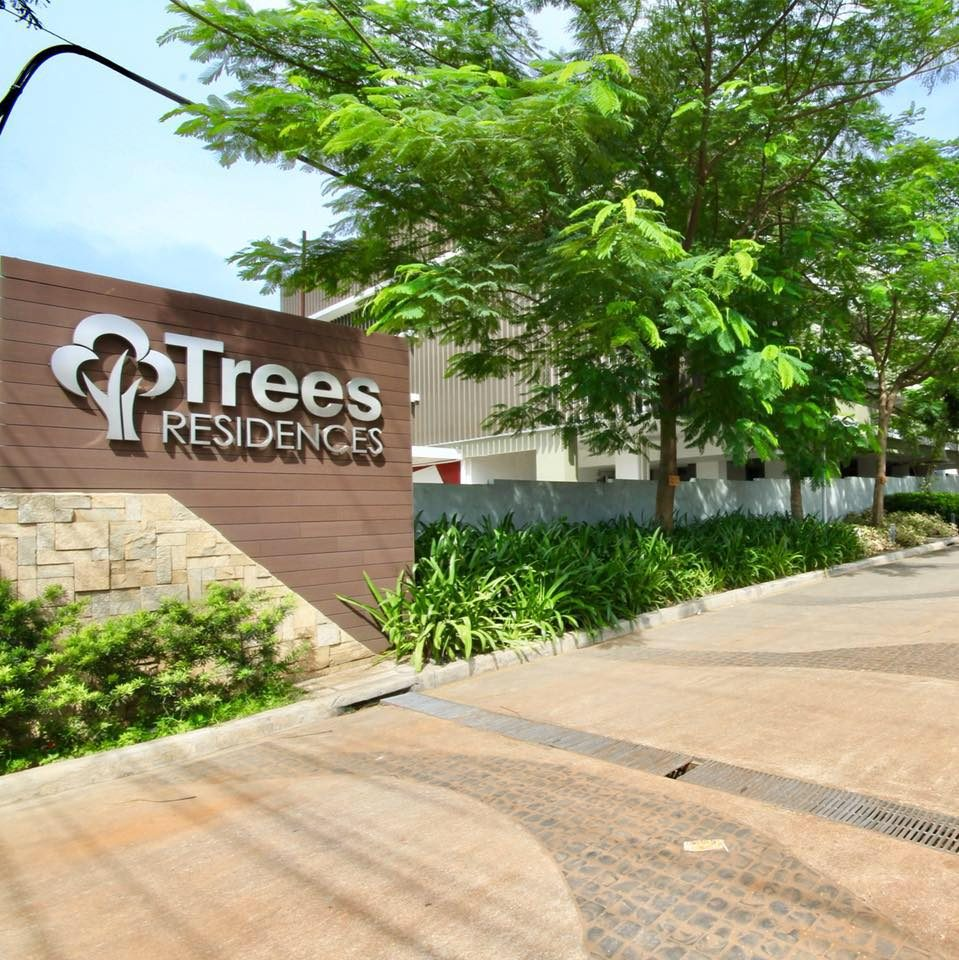 Trees Residences Entrance Sign